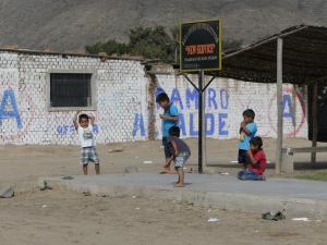 Peru Pampas de San Juan, Distrikt Laredo