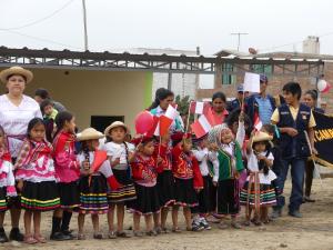 Gesundheitsstation Fest Peru