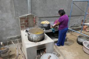 verbesserter Kochherd in Pampas de San Juan