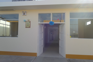 Gesundheitsstation Pampas de San Juan Peru